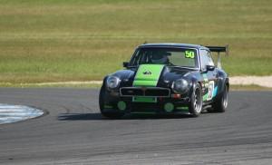 Robin Bailey MG B GT V8