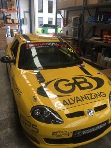 Vince Gucciardo's GB Galvanizing MG TF LE 500