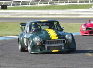 Glen Wood has been a formidable opponent in season 2015 in the MG C V8